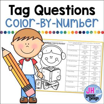 Tag Questions Color-By-Number