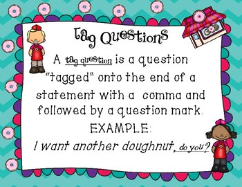Tag Questions Interactive Notebook