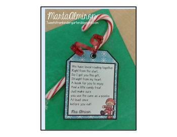 Tag for Book Gift to Students {My Monthly FREEBIE}