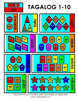 Tagalog Counting 1-10
