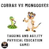 Tagging and Agility Physical Education Game!  Cobras and M