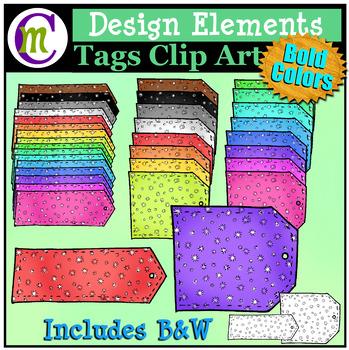 Tags Clip Art   Designing Elements Clip Art   Bold Pattern