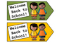 Tags - Welcome Back to School - Welcome Tags  - Treat Bag Tags