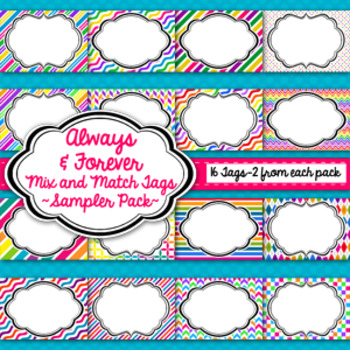 Tags and Labels!  Sampler Pack