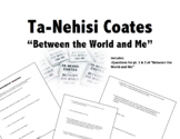 Ta-Nehisi Coates Between the World and Me Close Reading Qu