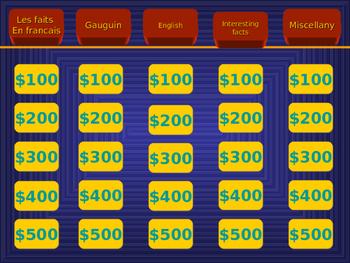 Tahiti Jeopardy