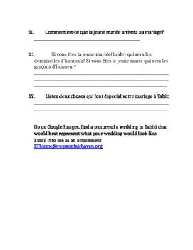Tahiti--Wedding Project