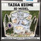 Taiga Biome Model - 3D Model - Biome Project