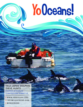 "Taiji Japan Dolphin Hunt""THE COVE"" Highly Engaging! Aligned w/ CCSS-Grades 9-12"