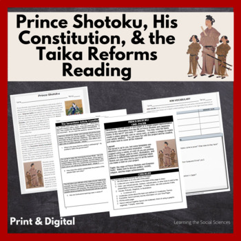 Taika Reforms Primary Document Quick Read: 1 Page Reading with Questions