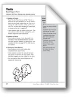 Tails (Alternate Endings): Book Report Form