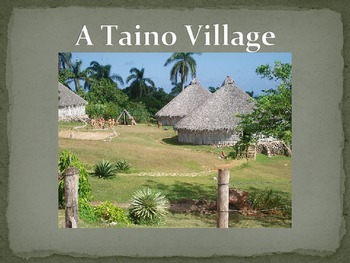 """Taino - The """"Indians"""" Columbus discovered"""