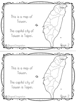 Taiwan Country Study | 48 Pages for Differentiated Learning + Bonus Pages