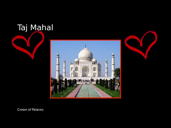 Taj Mahal Powerpoint