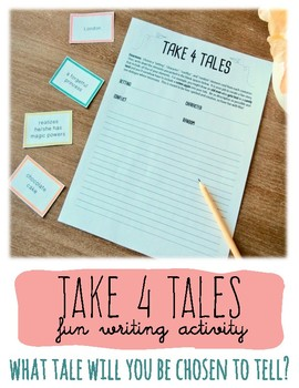 Fun Writing Activity--Take 4 Tales