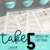 Take 5 | Back to School About Me Activity