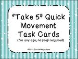 Brain Breaks Task Cards