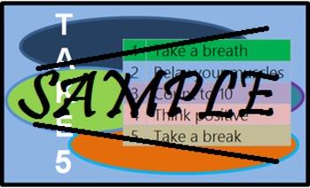 Take 5: Self-Behavior Management Cards