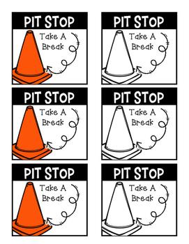Take A Break - Pit Stop