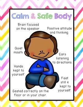 Take A Break Spot- Calming Strategies