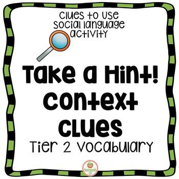 Social Skills: Context Clues