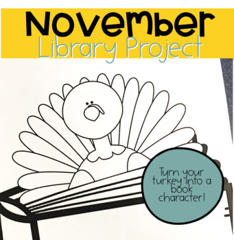Take A Look... There's a Turkey Hiding in My Book! (Library Project)