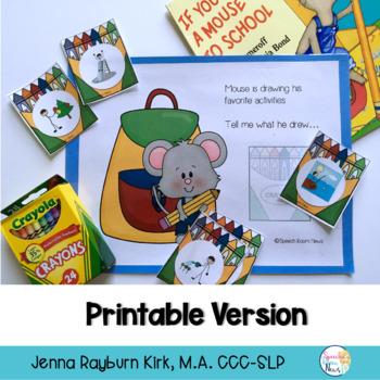 Take A Mouse to School: Preschool Book Companion
