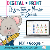 Take A Mouse to School: Preschool Book Companion