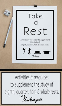 Take A Rest - Supplemental resources for the study of rests