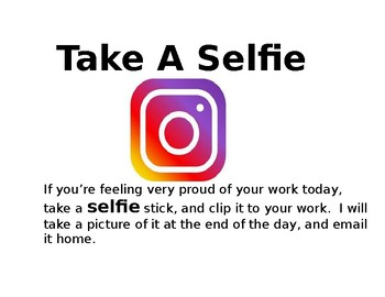 Request A Selfie- Take a Selfie