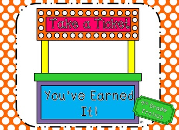 Editable tickets teaching resources teachers pay teachers take a ticket youve earned pronofoot35fo Images
