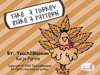 Take A Turkey, Make A Pattern