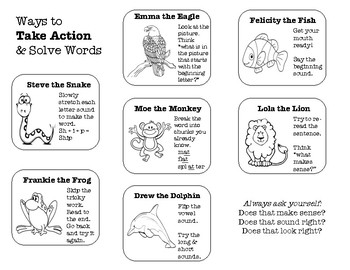 Take Action and Solve Words