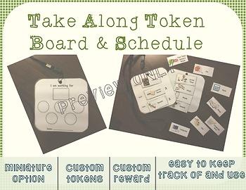 Take Along Token Board & Visual Schedule