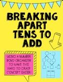 Take Apart Tens To Add