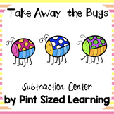 Take Away Bugs Subtraction Center