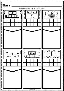 Take Away Concept for Subtraction Activity Cards