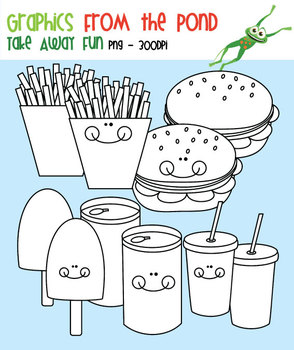 Take Away Fun - Clipart From the Pond