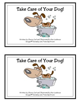 Take Care of Your Dog! Reproducible Guided Reader