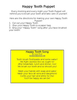 Take Care of Yourself--The Happy Tooth