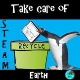 Earth Day - Identify Effects & Explore Solutions - STEAM