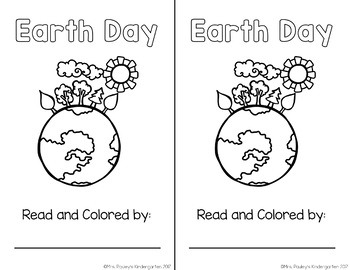 Take Care of the Earth {Emergent Reader}