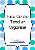 Take Control Teacher Organiser Blue Dots