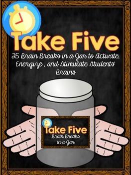 Take Five Brain Breaks in a Jar