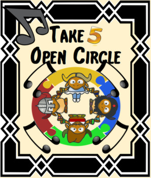 Take Five Open Circle Activity  - *Full Preview Video in D
