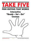 Take Five: Peer Editing and Revising Pack