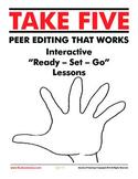 Take Five: Peer Editing and Revising Pack