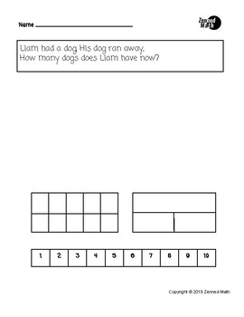 Take From Subtraction Word Problems