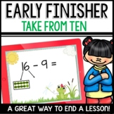 Take From Ten Practice | Early Finisher
