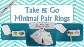 Take & Go Minimal Pair Rings